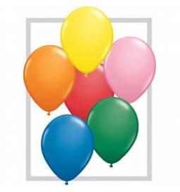 Lateks baloni 41 cm, Pisani 10/1
