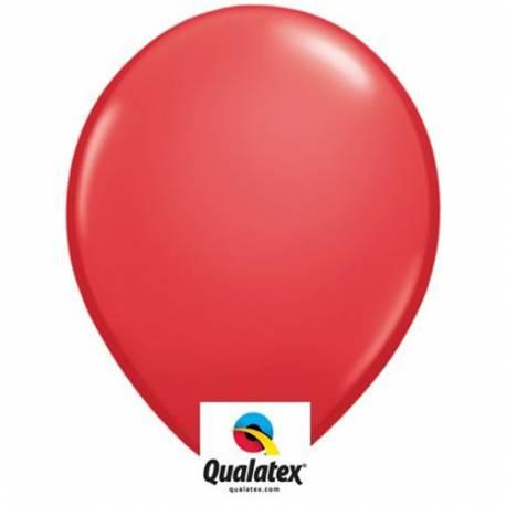 Lateks baloni 41 cm, Rdeči 10/1