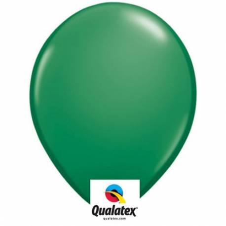 Lateks baloni 41 cm, Zeleni 10/1