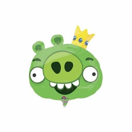 Zelen Angry Birds na palčki