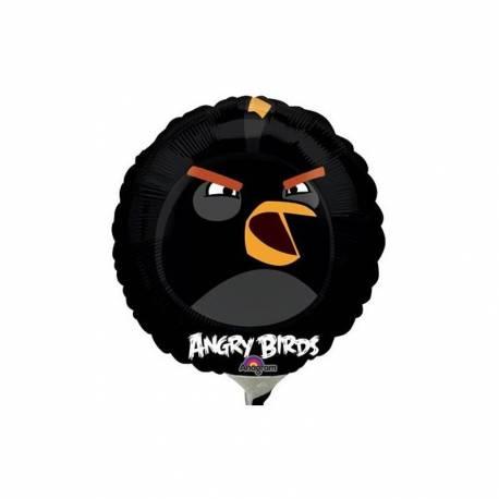 Črn Angry Birds na palčki