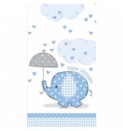 Prt za Baby Shower, Moder slonček