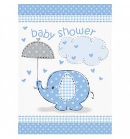 Vabila za Baby Shower, Moder slonček