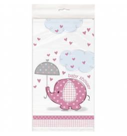 Prt za Baby Shower, Pink slonček
