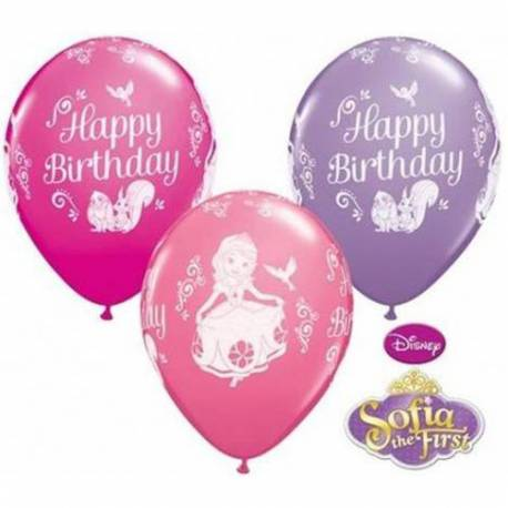 Baloni Sofija Prva Happy Birthday 28 cm, 10/1