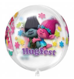 Folija balon Trolls orbz