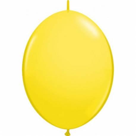 Veriga baloni 30 cm, Rumeni 10/1