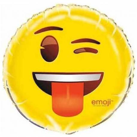 Folija balon Emoji, Jezik