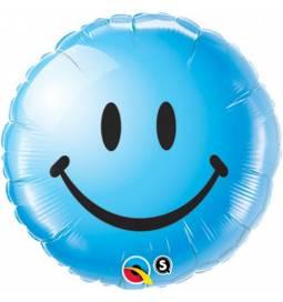 Folija balon Emoji, rumen