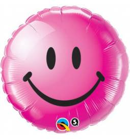 Folija balon Emoji, rdeč