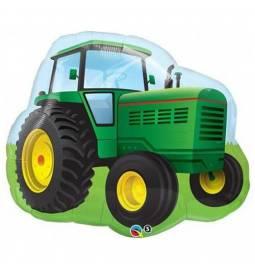 Folija balon Zelen traktor