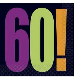 Prtički za 60 rojstni dan, Birthday Cheer