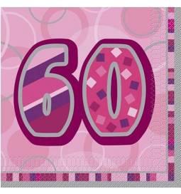 Roza prtički za 60. rojstni dan