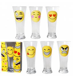Kozarec za pivo Smiley, sortirano