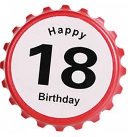 Odpirač za steklenico 18 rojstni dan