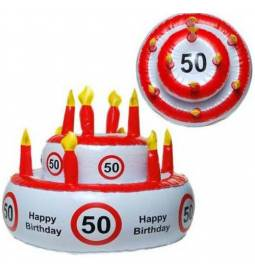 Napihljiva torta za 50. rojstni dan