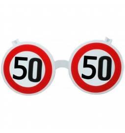 Očala za 50 rojstni dan, Stop znak