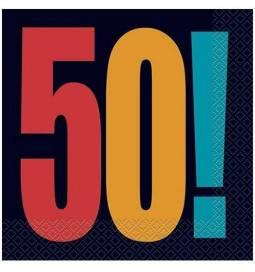 Serviete za 50 rojstni dan, Birthday Cheer