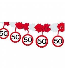 Stropni okras za 50 let, Stop znak