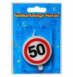Svečka 50. rojstni dan, Stop znak