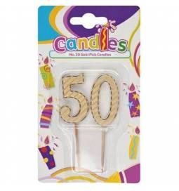 Svečka 50. rojstni dan, Zlata
