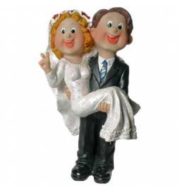 Poročni kipec, Par na kočiji, manjša