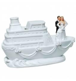 Poročni kipec Šaljiv 25 cm
