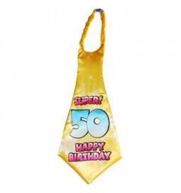 XXL kravata za 50 rojstni dan