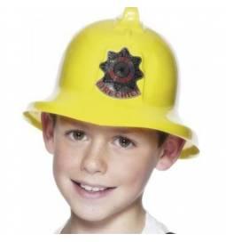 Gasilska čelada Fire Chief, rumena