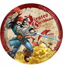 Krožniki 20 cm, Pirati iz Karibov