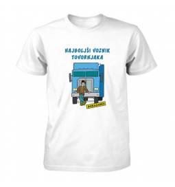 Majica za rojstni dan Najboljši voznik tovornjaka