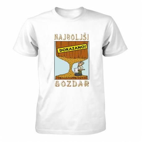 Majica za rojstni dan Najboljši gozdar