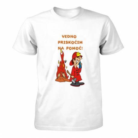 Majica za rojstni dan Gasilec