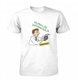 Majica za rojstni dan Najboljši računovodja