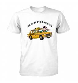Majica za rojstni dan Dokazano najboljši taksist
