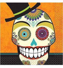 Serviete 33x33 cm, Day of the Dead