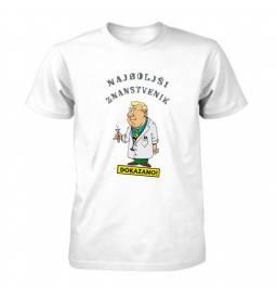 Majica za rojstni dan Dokazano najboljši znanstvenik