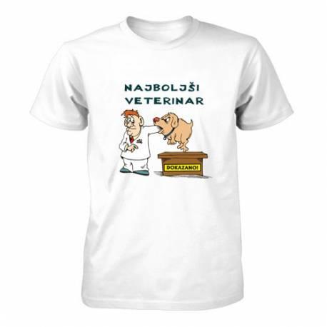 Majica za rojstni dan Najboljši veterinar