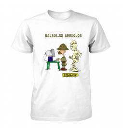 Majica za rojstni dan Dokazano najboljši arheolog
