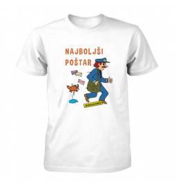 Majica za rojstni dan Dokazano najboljši poštar