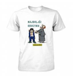 Majica za rojstni dan Dokazano najboljši odvetnik