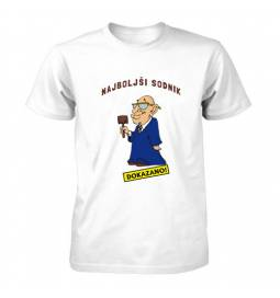 Majica za rojstni dan Dokazano najboljši sodnik