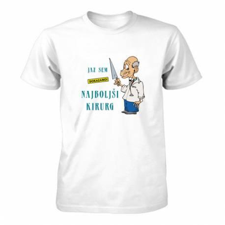 Majica za rojstni dan Dokazano najboljši kirurg