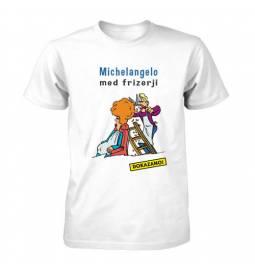 Majica za rojstni dan Michelangelo med frizerji