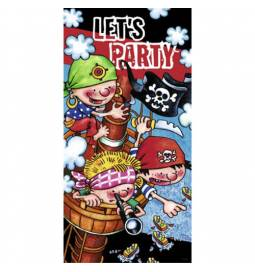 Piratski vratni plakat