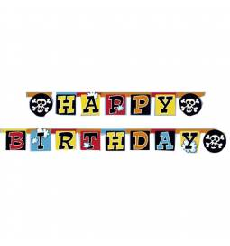 Transparent Happy Birthday Pirati