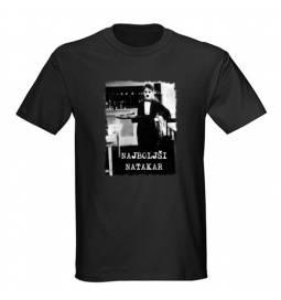Majica za rojstni dan Najboljši natakar - črna