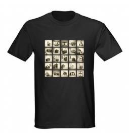 Majica za rojstni dan Fotograf - črna