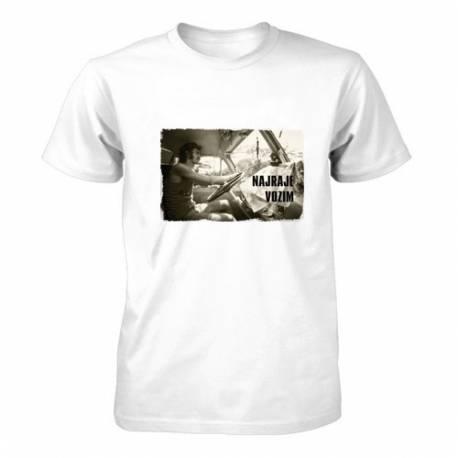 Majica za rojstni dan Najraje vozim