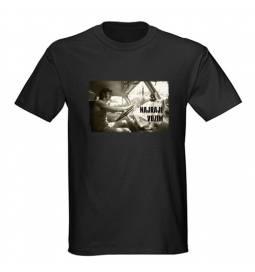 Majica za rojstni dan Najraje vozim - črna